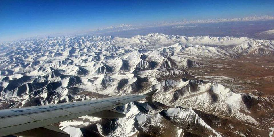 Lhasa to Ali Gunsa Flight