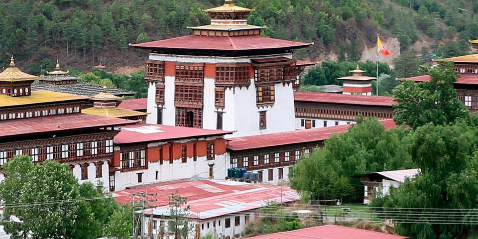 Bhutan Dzongs & Monastery Tour