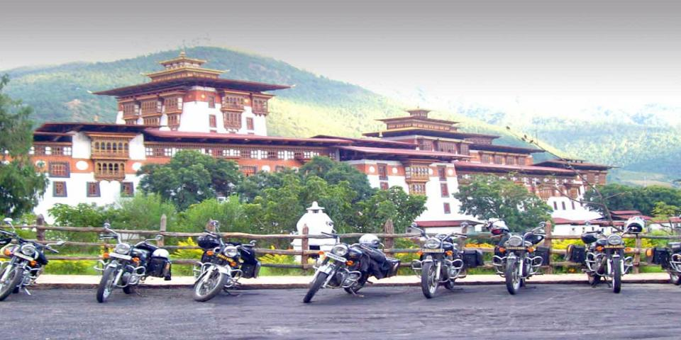 Sikkim Bhutan Motor Bike Tour
