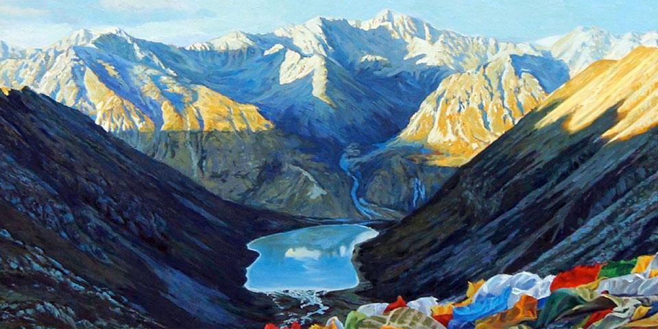 Lhamo lhatso Lake