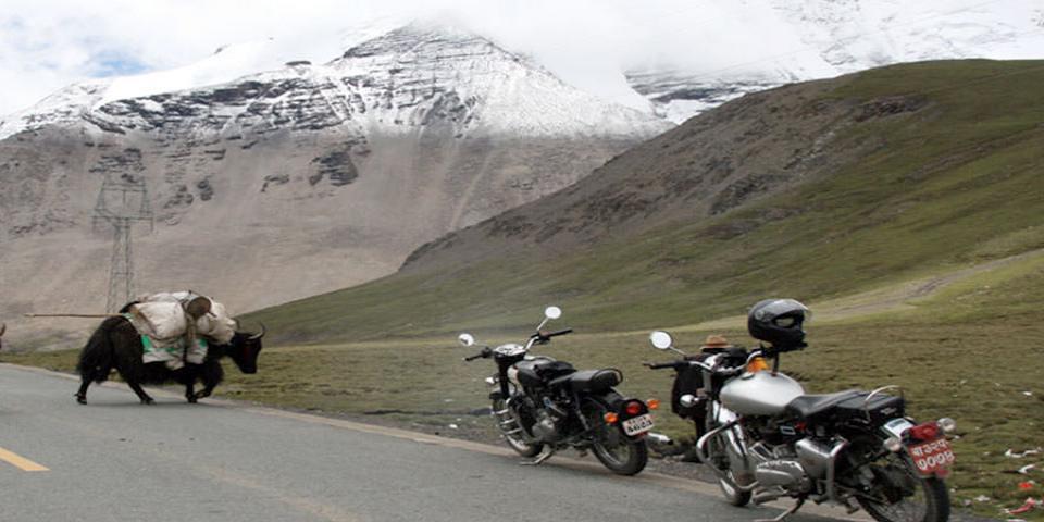 Tibet EBC Motor Biking Tour