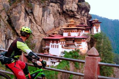 Bhutan Mountain Bike Tour