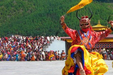 Bhutan Tshechu Festival Tour